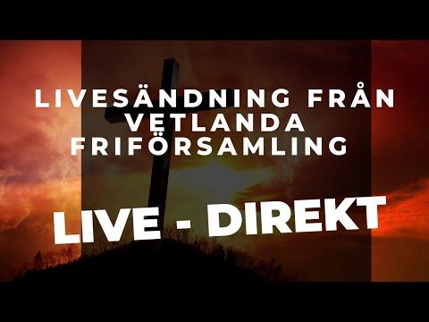 LIVE: Väckelsemöte med Ralf Johansson