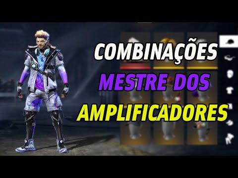 MELHORES COMBINAES DE ROUPAS NO FREE FIRE - MESTRE  DOS APLIFICADORES-S COMBINAES TOP