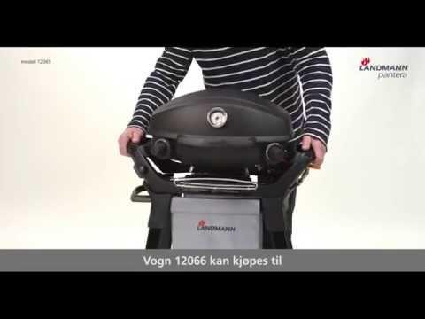 Landmann Gasgrill Pantera : Landmann gasgrill bbq grillwagen grillchef in schwarz