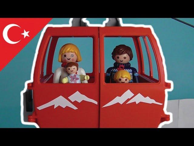 Playmobil Türkçe Kayak - Hauser Ailesi - Çocuk filmi