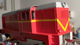 preview picture of video '1:14 Scale Diesellokomotive L45H als Lxd2 PKP Quick Test no.2'