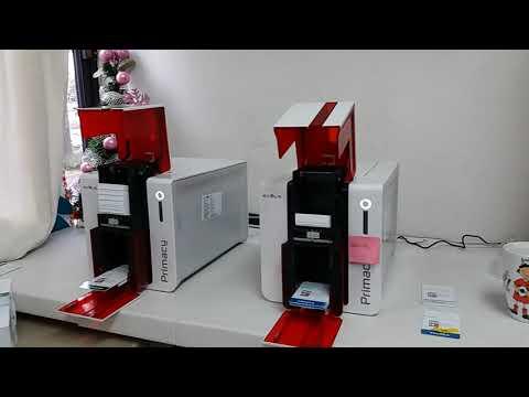 Impresoras de credenciales en pvc