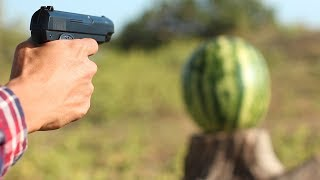 AIRSOFT GUN VS WATERMELON | 14 CRAZY EXPERIMENTS AND TRICKS (by Mr. Hacker)