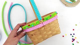 DIY Easter Basket With Mayka Tape