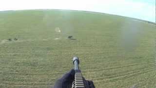 Helicopter Hog Hunt Slow Mo Kill Shots - It's A Wonderful World