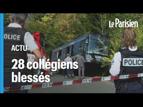 28 collégiens blessés dans l'accident d'un car scolaire en Mayenne
