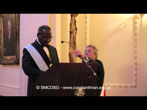 Constantinian Order 2012 – President of Dominica Investiture
