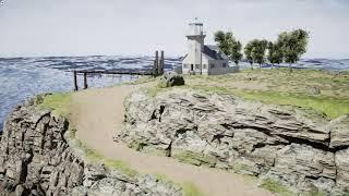 UE4 Game engine practice - Lighthouse