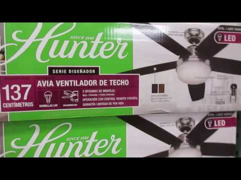 Hunter Avia ceiling fan at Costco
