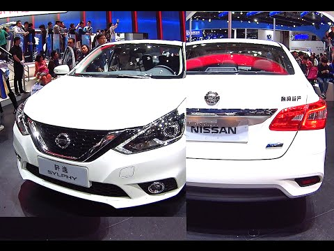 NEW 2016, 2017 facelift for the Nissan Sylphy, Nissan Sylphy 2016, 2017 model
