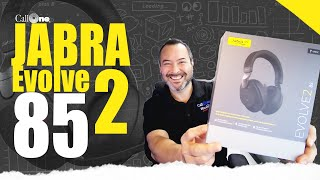 Here it is. The Jabra Evolve2 85 Overview and Mic Test!