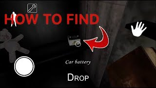 HOW TO FIND AND USE THE CAR BATTERY IN GRANNY HORROR GAME