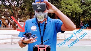 Emax TinyHawk Freestyle With naked Cam primeiro vôo #emax #tinyhawk #fpv #fjrdronestudio #frsky