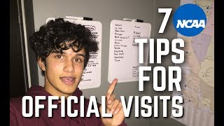 7 Tips for NCAA Official Visits
