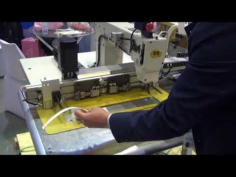 Maquina automática coser sacos