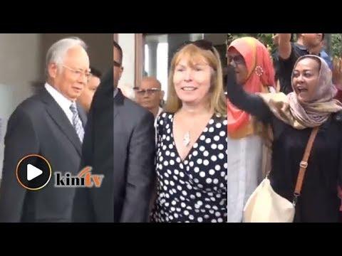 Penyokong Najib berang dihalang masuk mahkamah