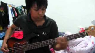 AntiFlag - I'd Tell You But [Bass Cover]