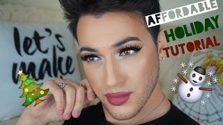 Affordable Holiday Makeup Tutorial | MannyMua