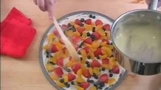 Diabetic Appetizer Recipes : How to Add Fruit Pizza Glaze