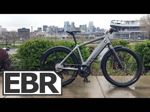 Stromer ST5 Video Review – $10k Fast, Powerful, Silent Electric Bike