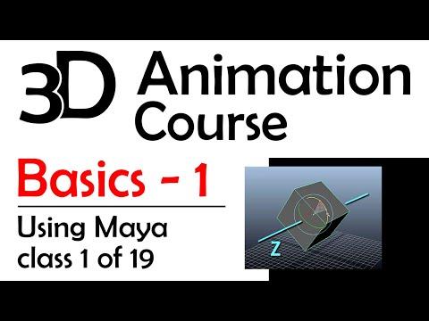 Basics 1: Intro To Maya (Free 3D Animation Course) - YouTube