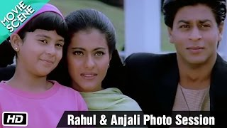 Rahul & Anjali photo session - Movie Scene - Kuch Kuch Hota Hai