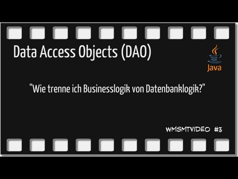 Folge 3 - Data Access Objects in Java