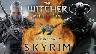 Рэп Баттл - Ведьмак 3: Дикая охота vs. The Elder Scrolls V: Skyrim