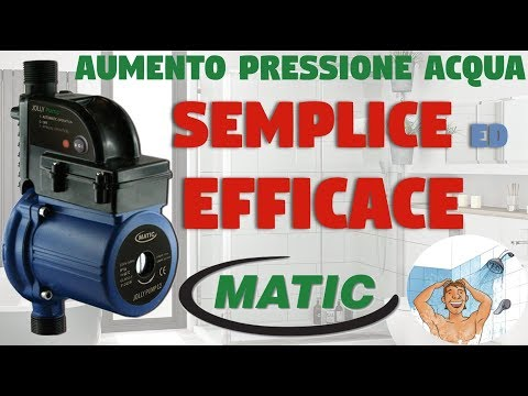 Matic Jolly Pump pompa per aumento pressione acqua domestica  - TuttoProfessionale.it