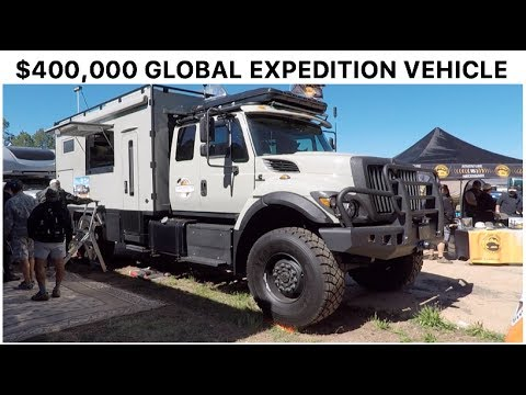 $400,000+ Global Expedition Vehicles : Overland Expo 2017