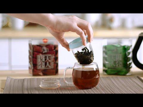 Завариваем Дахунпао в заварочной чашке «Тянь Жень»