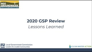 Panel Discussion: 2020 Plan Review Lessons Learned