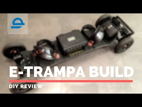 Electric Trampa Mountainboard DIY BUILD REVIEW | Enertion Electric Skateboards