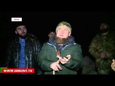 Рамзан Кадыров побывал с двухдневным визитом в Ножай-Юртовском районе Чечни