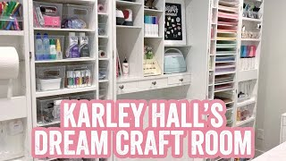 My Dream Cricut/ Glowforge Craft Room Tour!