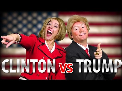 RAP NEWS   Trump v Clinton (Special Edition!)