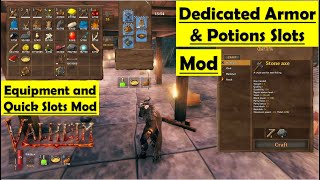 Valheim Equipment and Quick Slots Mod - How to Install and Gameplay