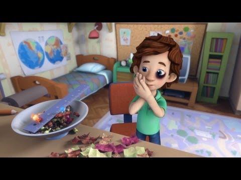 Фиксики - Карамель | Познавательные образовательные мультики для детей, школьников