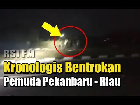 Kronologi Bentrokan Pemuda Pekanbaru, Jembatan Siak Kota Pekanbaru