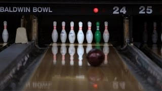 How to Shoot a 10 Pin / Bowl a Strike | Bowling