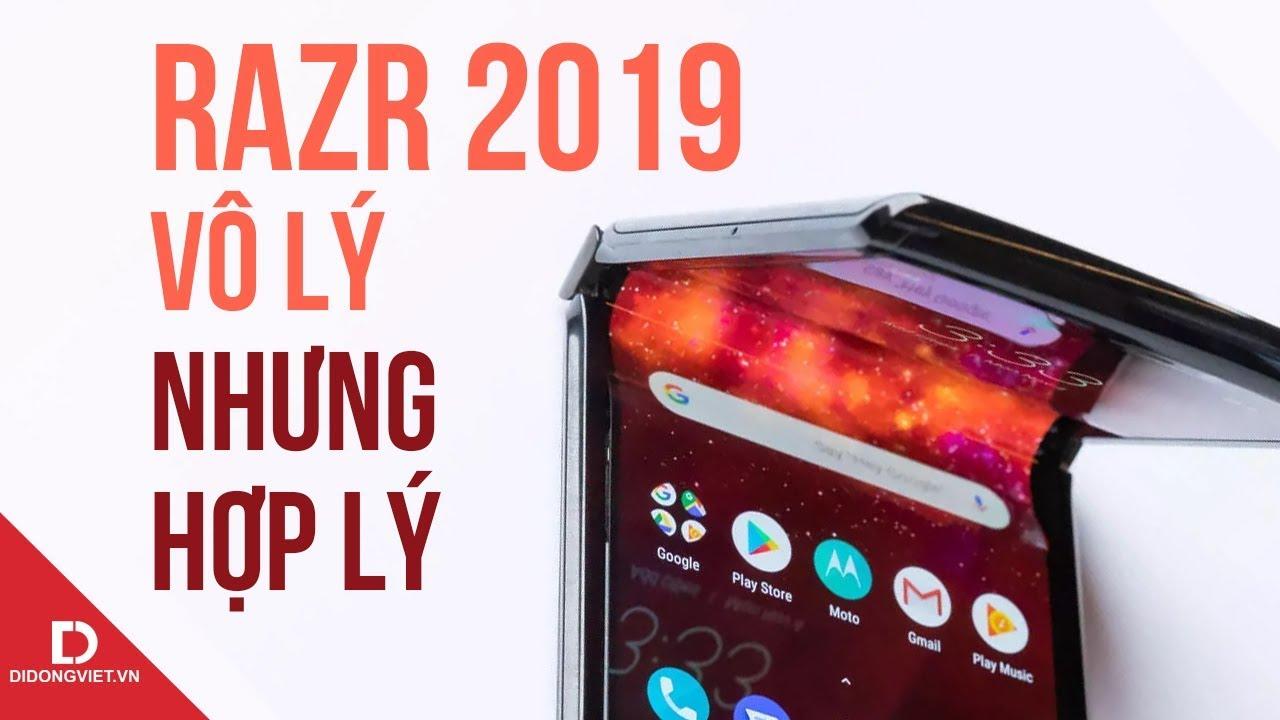 Motorola Razr 2019: Kiệt tác không dành cho số đông