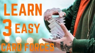 FORCE ANY CARD!!! - 3 Easy Ways to Force a Playing card