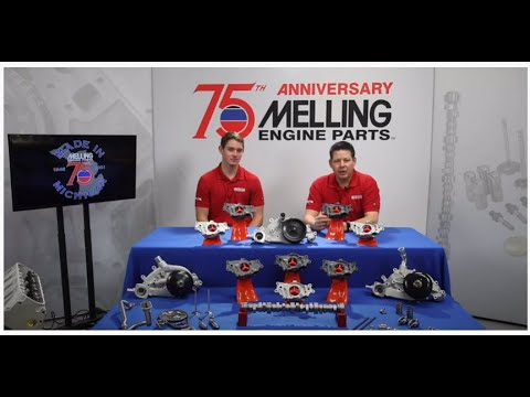 Melling's 75th Anniversary + GM LS Melling Oil Pumps