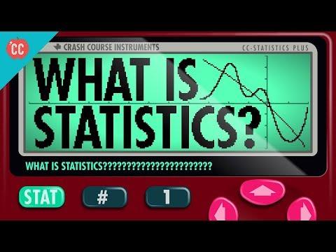 What Is Statistics: Crash Course Statistics #1 - YouTube