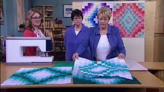 Behind The Scenes On LOQtv (3200 Series): A Simpler Bargello Quilt