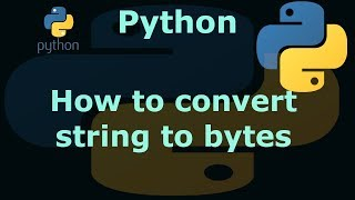 Python 3 How to convert string to bytes