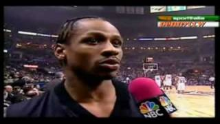 Allen Iverson 25pts Highlight NBA All Star 2001 MVP *Best All Star Game ever