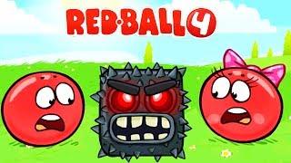 RED BALL 4 КРАСНЫЙ ШАРИК Часть 8 ПОДЗЕМНЫЕ ХОДЫ прохождение ВИДЕО ДЛЯ ДЕТЕЙ  как мультик kids games