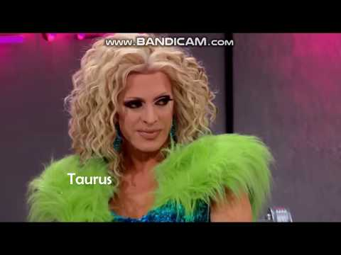 RPDR Drag Queens As Zodiac Signs (real signs!!)