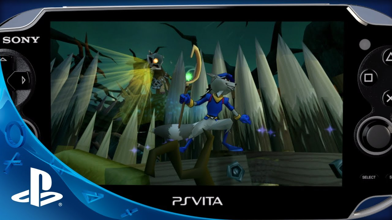The Sly Cooper Collection Arrives on PS Vita Today